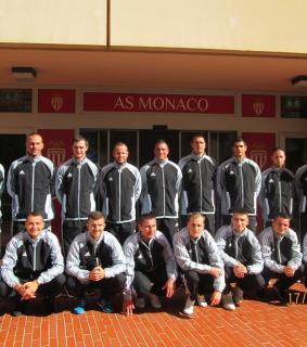 Monaco-Magyarország rendőr válogatott mérkőzés