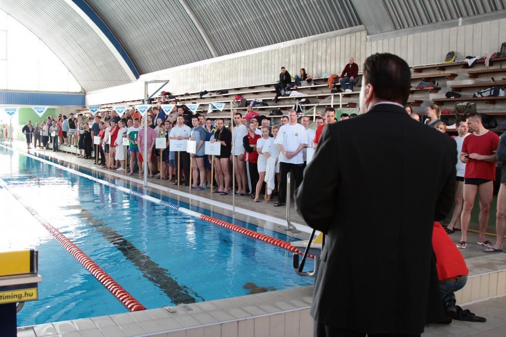 Rendőr Úszó Bajnokság - 2012